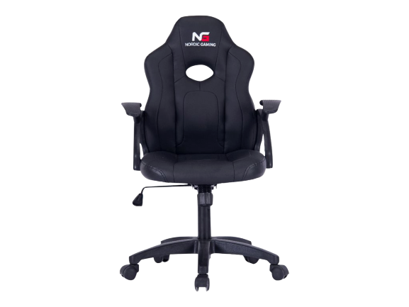 Nordic gaming gaming chair little warrior black