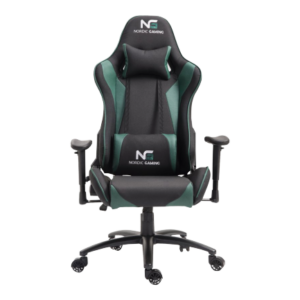 Nordic gaming racer gaming chair green