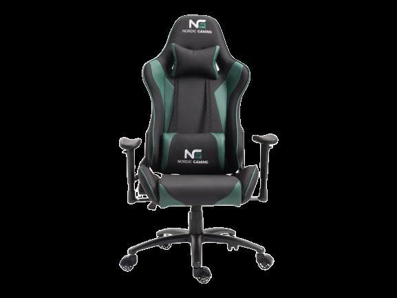 Nordic gaming racer gaming chair green