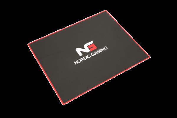 Nordic gaming floor mat black